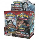 Pokemon POK81249 TCG Sun and Moon 4 Crimson Invasion Booster Display Card Game