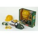 Bosch Set with Chainsaw, Helmet, Earmuff