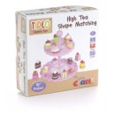 Tidlo High Tea Shape Matching Cupcake Set (Pink)