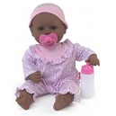 Dolls World 8663 Little Treasure Black Doll