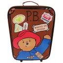 Paddington Bear Children's Luggage Paddington Box Wheeled Bag 18 liters Brown (Brown) PADD001001