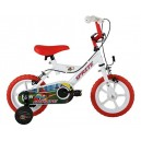 Sonic Sprite Kids' Kids Bike White 1 speed mag style wheels fully enclosed chainguard and easy reach brakes