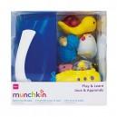 Munchkin Play and Learn Bath Set