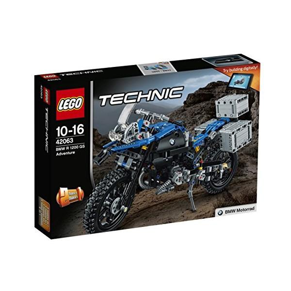 Lego 42063 Technic Bmw R 1200 Gs Adventure Building Toy