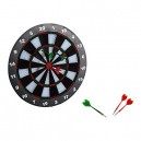 Homcom 16  Professional Dartboard Set w/ 6 Darts Full Size Tournament Dart Board