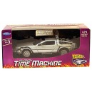Welly 09066  Back to The Future 1 DeLorean  Time Machine Toy