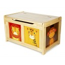 Tidlo Natural Jungle Toy Chest