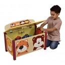 Liberty House Toys Jungle Toy Box, Wood, Multi