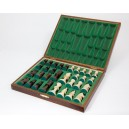 Staunton Design DELUXE Boxed CHESS Pieces SIZE 5