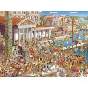 Heye 29791  Ancient Rome Prades  Triangular Puzzle