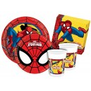 Ciao Y2493 Party Table Kit Spider Man for 24 People (112 Items