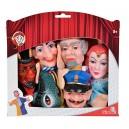 Simba 104586784  Punch and Judy  Hand Puppet Set (6