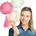 Creativity For Kids 3503  Super String Lanterns  Craftivity Kit