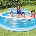 Intex 57190NP Swim Centre Family Lounge Pool, 224 x 216 x 76 cm