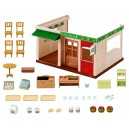 Sylvanian Families 5271 Hamburger Restaurant Set