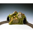 Noch 34730 23 x 22 cm Curved Tunnel Double Track Landscape Modelling