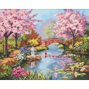 Dimensions Paintworks Paint by Numbers Japanese Garden Kit