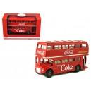 Coca Cola 464001 Double Decker Bus
