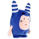 Oddbods Voice Activated Interactive Pogo Soft Toy, 28cm