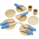 Voila Wooden Pretend & Play Tableware