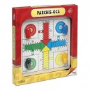 Cayro 935954–Game of the Goose and Parcheesi with Wood Accessories