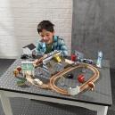 KidKraft Disney® Pixar Cars 3  Wooden Track Set Thomasville 50 Pieces