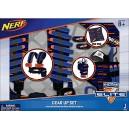 NERF 11518 Bandana/Hip Holster/Utility Vest Elite Stealth Striker Set