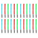 24X Inflatable Lightsaber Light Saber Toy Colour May Vary