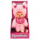 Monchhichi 24289 20 cm Pink Sakura Girl Doll