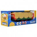 Bruder 02220 Bale Transport Trailer with 8 round bales
