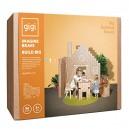 GIGI Bloks Big Interlocking Cardboard Building Blocks (96 Blocks)