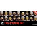 Vallejo Model Color Faces Painting Acrylic Paint Set