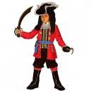 Children's Pirate Captain Child 158cm Costume for Buccaneer Fancy Dress