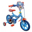 Thomas & Friends Thomas Boys' Kids Bike Blue, 1  inch steel frame, 1 speed fully enclosed printed chainguard removable stabilise