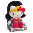 Jemini–Hello Kitty Plush 022790–Wonder Woman Dc Comics Super Heroes–27cm