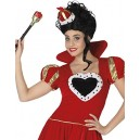 atosa 26851 – Queen of Hearts Ladies Fancy Dress Costume