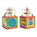 Woodyland 21 x 36 cm Didactic Toys Multiactivity Instructional Cube Labyrinth