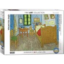 Eurographics  Vincent The bedroom of Van Gogh At Arles  Puzzle (1000