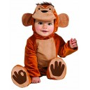 Funky Monkey Romper Toddler Costume 1