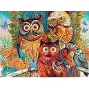 Castorland  Owls  Jigsaw Puzzle (2000