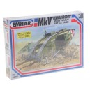 Emhar 1/35 WW I EM4005 MK. V Tank Buildable in 3 versions
