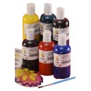 Scola Glascol 6 x 150ml Glass Paint