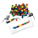 Learning Resources Beads and Pattern Cards Set