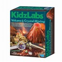 4M Kidz Labs Volcano and Crystal Mining Play Set