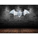 DC Comics Batman Logo Mirror, Clear