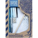 Seedling 15SNOWD  Create Your Own Snowflake Fairy Wand  Craft Kit