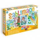 Sentosphère 3900883  Sand Image Birds  Craft Set
