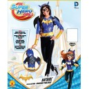 Batgirl Deluxe Costume, Kids DC Super Hero Girls Outfit, Medium, Age 5