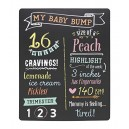 Pearhead Pregnancy Photo Sharing Chalkboard with Chalk