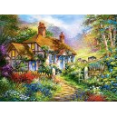 Castorland  Forest Cottage  Jigsaw Puzzle (3000